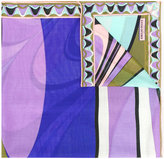 Emilio Pucci abstract print scarf - women - Silk/Wool - One Size
