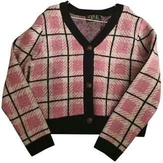 Opening Ceremony Pink Wool Knitwear