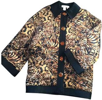 Mila Louise SchAn Concept Camel Silk Coats