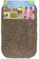 JVL Dirt Angel Machine Washable Barrier Door Mat - 40 x 60 cm, Caramel