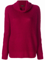 Loro Piana chunky knit roll neck jumper