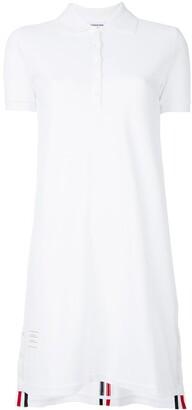 Thom Browne A-line polo dress