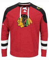 Majestic Men's Chicago Blackhawks Centre Long-Sleeve Jersey Shirt