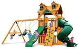 Gorilla Playsets Malibu Extreme Clubhouse Swing Set with Amber