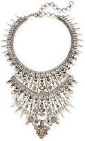 Kendra Scott Serayah Statement Necklace in Antique Silver