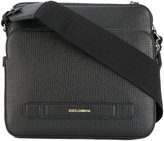 Dolce & Gabbana double compartment messenger bag