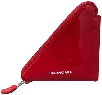 Balenciaga Red Patent leather Purses, wallets & cases