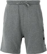 Calvin Klein Jeans logo print sweatshorts - men - Cotton - S