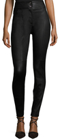 Temperley London Quartz Leather Skinny Pant