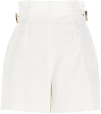 Alberta Ferretti Buckle Detail Shorts
