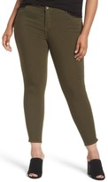 KUT from the Kloth Plus Size Women's Donna Colored Stretch Skinny Jeans