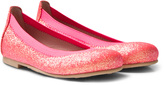 Pretty Ballerinas Pink Neon Slip On Hannah Pumps