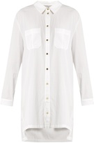 Heidi Klein Maine step-hem lightweight shirtdress