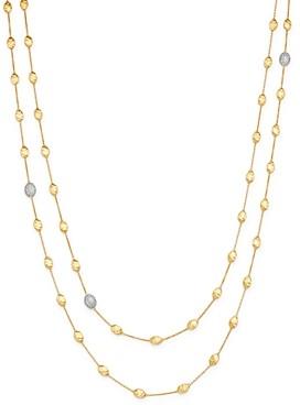 Marco Bicego 18K Yellow Gold Siviglia Diamond Long Station Necklace, 49.25