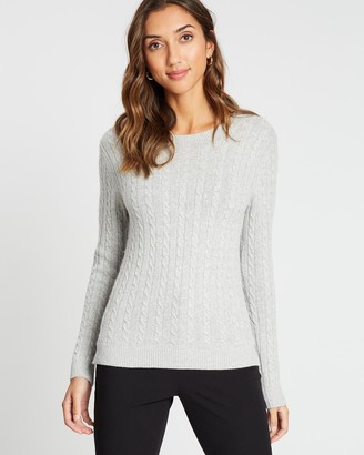 David Lawrence Cable Knit
