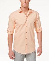 Alfani Men's Landon Grid Cotton Shirt, Only at Macy's