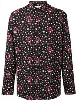 Saint Laurent signature Yves collar printed shirt