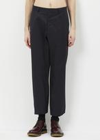 Jil Sander black morris trouser