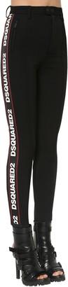 DSQUARED2 Skinny Stretch Techno Jersey Pants