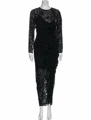 Veronica Beard Lala Long Dress w/ Tags Black