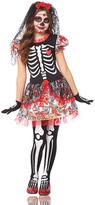Black Day of the Dead Girl Costume - Kids