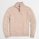 J.Crew Factory Lambswool half-zip sweater