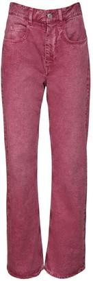 Etoile Isabel Marant Belvirac Cotton Denim Flared Jeans