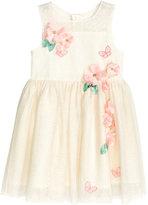 H&M Tulle Dress - Natural white/glittery - Kids