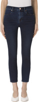 J Brand Alana High-Rise Cropped Super Skinny In Throne