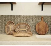 Thumbnail for your product : The Goods - Set of 3 Ornamentally Woven Tray