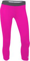 Soffe Pink & Gunmetal Dri Capri Pants