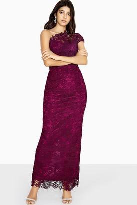 Paper Dolls Melbourne One Shoulder Lace Maxi Dress