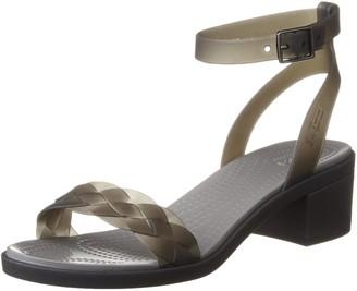 Crocs Women's Isabella Block Heel Sandal Heeled