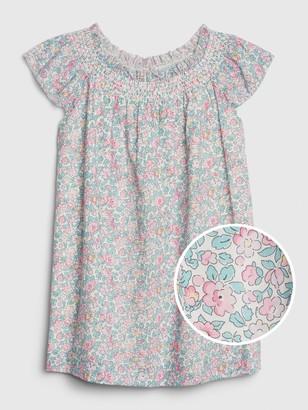 Gap Toddler Floral Smocked Dress