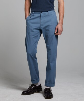 Todd Snyder Japanese Selvedge Chino in Club Blue