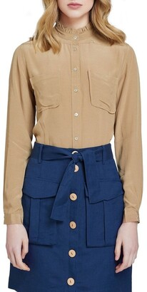 Oxford Amberly Double Pocket Blouse Lt