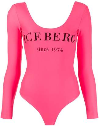 Iceberg fitted logo bodysuit