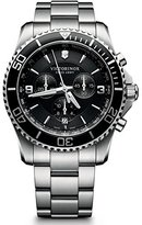 Victorinox men's Quartz Watch Chronograph Display and Stainless Steel Strap 241695