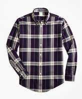 Brooks Brothers Non-Iron Regent Fit Bold Plaid Sport Shirt