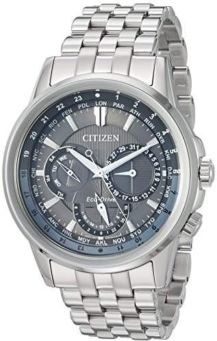 Citizen Men's 'Eco-Drive' Quartz Stainless Steel Dress Watch