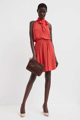 Witchery Bow Front Mini Dress
