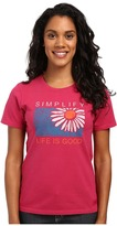 Life is Good Simplify Daisy Crusher Tee