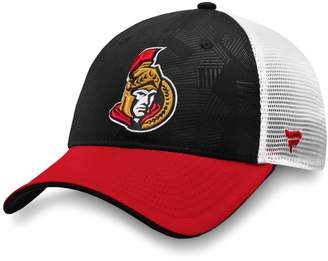 Fanatics Ottawa Senators NHL Revise Iconic Adjustable Trucker Cap