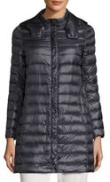 Peserico Hooded Long Puffer Coat