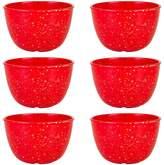 Zak Designs Confetti 6-pc. Melamine Pub Bowl Set