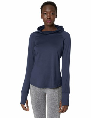Maidenform Women's Sport Baselayer Funnel Neck Hooded Top