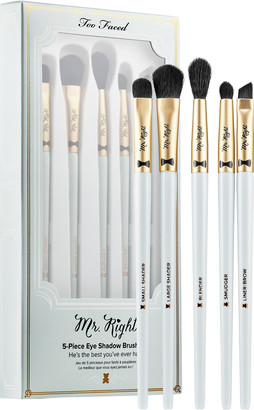 Too Faced Mr. Right 5-Piece Eye Shadow Brush Set