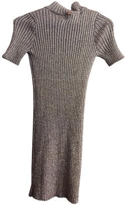 For Love & Lemons Metallic Cotton - elasthane Dresses