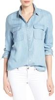 Petite Women's Caslon Denim Shirt