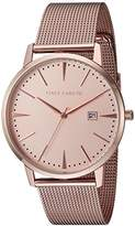 Vince Camuto Women's VC/5300RGRG Date Function Dial Rose Gold-Tone Mesh Bracelet Watch